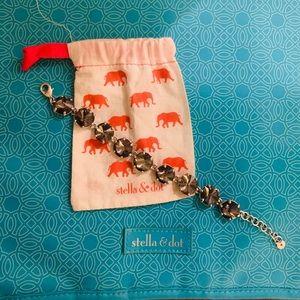 Stella & Dot Amelie Sparkle Bracelet-Silver
